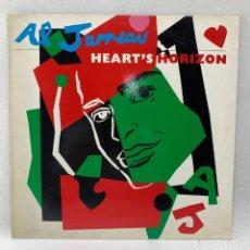 Dischi in vinile: LP - VINILO AL JARREAU - HEART'S HORIZON + ENCARTE - ALEMANIA - AÑO 1988 - 255 975-1. Lote 248150270