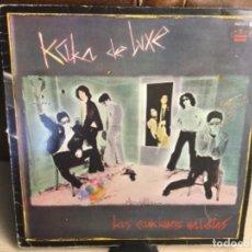 Discos de vinilo: KAKA DE LUXE - LAS CANCIONES MALDITAS / VINILO 1983 ALASKA. Lote 248151775
