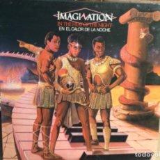 Discos de vinilo: IMAGINATION - EN EL CALOR DE LA NOCHE (LP) 1982. Lote 248183615