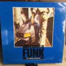 Discos de vinilo: AMBASSADORS OF FUNK - MY MINDS MADE UP . MAXI SINGLE . 1989. Lote 248185430