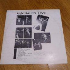 Discos de vinilo: VINILO VAN HALEN – LIVE (DECEMBER 20, 1977).. Lote 248187660