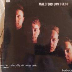 Discos de vinilo: MALDITOS LOS CELOS–...CON OTRO, SIN DARME CELOS . LP VINILO 1992. BUEN ESTADO. Lote 248187735