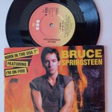 Dischi in vinile: BRUCE SPRINGSTEEN - BORN IN THE USA - SINGLE CBS UK 1984. Lote 248187830
