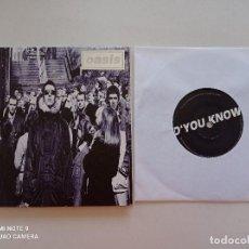 Discos de vinilo: OASIS - D'YOU KNOW WHAT I MEAN? - SINGLE UK CREATION RECORDS 1997 // COMO NUEVO // PORTADA ABIERTA. Lote 248192905