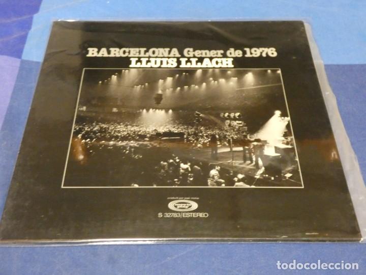 EXPRO LP LLUIS LLACH GENER DE 1976 MUY BUE ESTADO GENERAL MOVIEPLAY 49 (Música - Discos - LP Vinilo - Pop - Rock - Internacional de los 70)