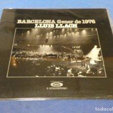 Discos de vinilo: EXPRO LP LLUIS LLACH GENER DE 1976 MUY BUE ESTADO GENERAL MOVIEPLAY 49. Lote 248203500