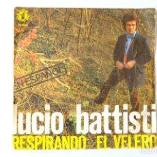 Discos de vinilo: LUCIO BATTISTI. RESPIRANDO EL VELERO. Lote 248212935