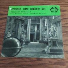 Discos de vinilo: DISCO LP DE VINILO (UK) BEETHOVEN PIANO CONCERTO 4, CONCIERTO VIENNA PHILHARMONIC ORCHESTRA. Lote 248252400