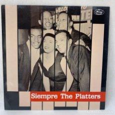 Dischi in vinile: LP - VINILO THE PLATTERS - SIEMPRE THE PLATTERS - ESPAÑA - AÑO 1988. Lote 248267400