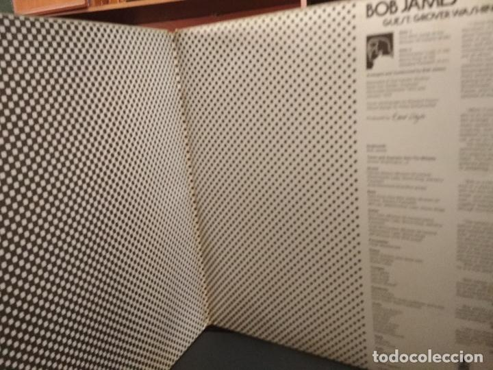 Discos de vinilo: LP - BOB JAMES THREE / GUEST: GROVER WASHINGTON, JR. / CTI RECORDS HCTS 731-35 PEPETO - Foto 2 - 248279680