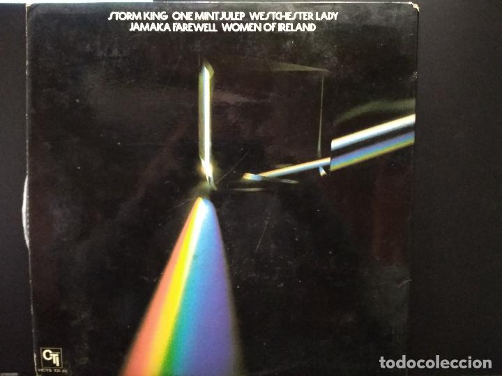 Discos de vinilo: LP - BOB JAMES THREE / GUEST: GROVER WASHINGTON, JR. / CTI RECORDS HCTS 731-35 PEPETO - Foto 3 - 248279680