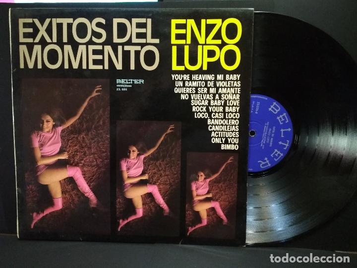 LP ENZO LUPO - ÉXITOS DEL MOMENTO. - BELTER - (1975) PEPETO (Música - Discos - LP Vinilo - Orquestas)