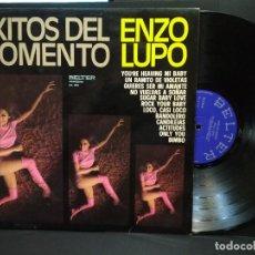 Discos de vinilo: LP ENZO LUPO - ÉXITOS DEL MOMENTO. - BELTER - (1975) PEPETO. Lote 248290570