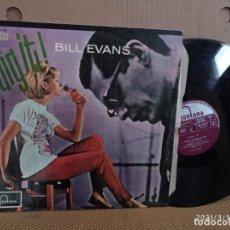 Disques de vinyle: LP-BILL EVANS-DIG IT!-1964-SPAIN-MUY RARO-DIFICIL DE CONSEGUIR-. Lote 248291805