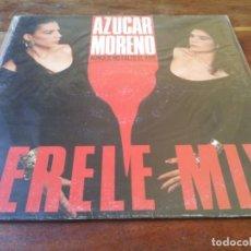 Discos de vinilo: AZUCAR MORENO - AUNQUE ME FALTE EL AIRE, LERELE MIX - MAXISINGLE ORIGINAL EPIC CBS 1988. Lote 248300085