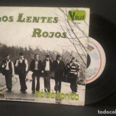 Discos de vinilo: LOS LENTES ROJOS.OLE OLE BONITA.SINGLE.ESPAÑA 1973. VOUGE 1973 PEPETO. Lote 248303160