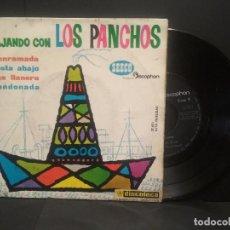 Discos de vinilo: VIAJANDO CON LOS PANCHOS EP DISCOPHON SEECO 1961 ALMA LLANERA/ ABANDONADA/ LA ENRAMADA +1 PEPETO. Lote 248304060