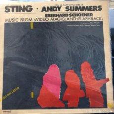 Discos de vinilo: LP ARGENTINO DE STING, ANDY SUMMERS Y EBERHARD SCHOENER AÑO 1986. Lote 248365575
