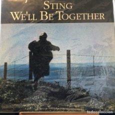 Discos de vinilo: MAXI SINGLE ARGENTINO DE STING AÑO 1987. Lote 248365760