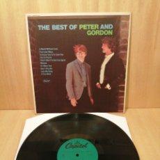 Discos de vinilo: PETER & GORDON. THE BEST OF. EDICIÓN USA.. Lote 248413720
