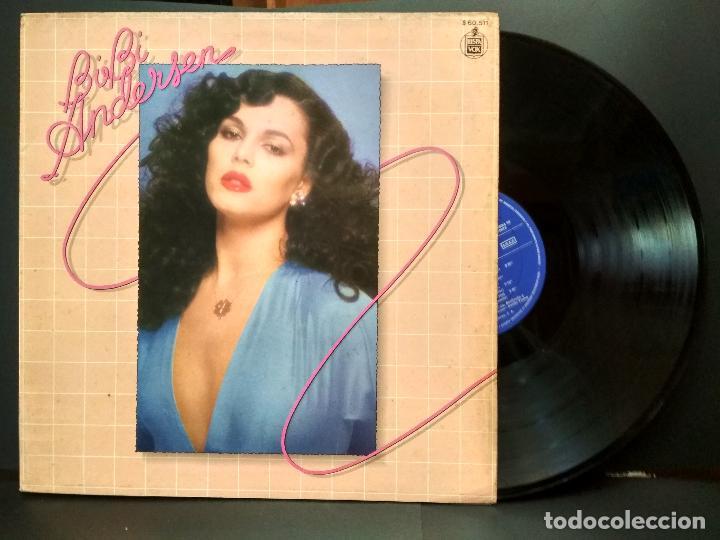 BIBI ANDERSEN LP 1980 MOVIDA POP SALVAME HISPAVOX PEPETO (Música - Discos - LP Vinilo - Solistas Españoles de los 70 a la actualidad)