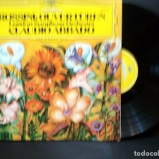 Discos de vinilo: ROSSINI OVERTUREN CLAUDIO ABBADO LONDON SYMHONY ORCHESTRA LP SPAIN 1977 PEPETO. Lote 248417900