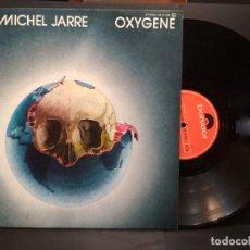 Discos de vinilo: LP JEAN MICHEL JARRE,OXYGENE, POLIDOR 1976, ED ESPAÑOLA PEPETO. Lote 248419795