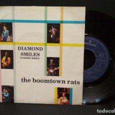 Discos de vinilo: SINGLE THE BOOMTOWN RATS - DIAMOND SMILES / LATE LAST NIGHT 1979 SPAIN PEPETO. Lote 248430410