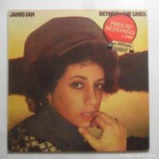 Discos de vinilo: LP - JANIS IAN - BETWEEN THE LINES - CBS - 1982. Lote 248432490