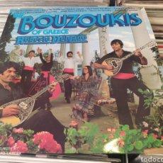 Discos de vinilo: ROBERTO DELGADO–THE BOUZOUKIS OF GREECE. DOBLE LP VINILO PERFECTO ESTADO. FOLK GRIEGO.. Lote 248438910