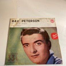 Discos de vinilo: RAY PETERSON. Lote 248441695