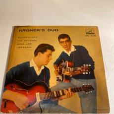 Discos de vinilo: KRONER'S DUO. Lote 248442545