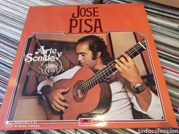Discos de vinilo: José Pisa–Arte Y Sonido. Lp vinilo edición France 1979. Perfecto estado - Foto 2 - 248449340