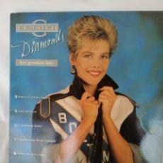 Discos de vinilo: C.C.CATCH, DIAMONDS,HER GREATEST HITS,. Lote 248484615