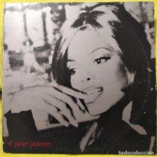 Discos de vinilo: JANET JACKSON - IF, USA 1993, VIRGIN – Y-12675 , 4 TEMAS (VG+_VG+). Lote 248484675
