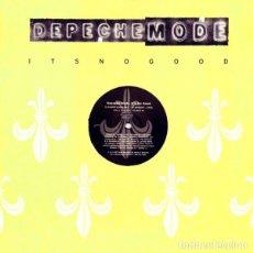 Discos de vinilo: MAXI DEPECHE MODE, IT´S NO GOOD, 1997 UK PROMO, MUTE P12 BONG 26 (VG+_EX). Lote 248491625