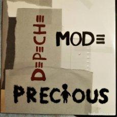 """Discos de vinilo: DEPECHE MODE,PRECIOUS,2X12"""" DOBLE MAXI, 2005 IMPORT USA, MUTE 0-42831 (NM_NM). Lote 248492265"""