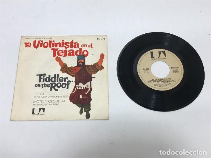 EL VIOLINISTA EN EL TEJADO (Música - Discos - Singles Vinilo - Bandas Sonoras y Actores)