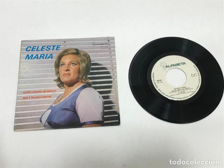 SINGLE CELESTE MARIA FIRMADO AUTOR ALF-018 AÑO 1970 (Música - Discos - Singles Vinilo - Pop - Rock - Internacional de los 70)