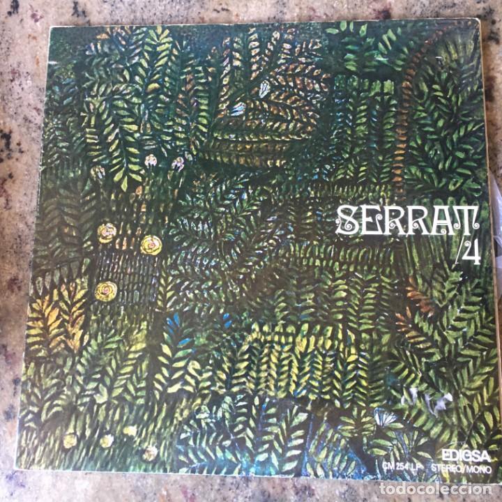 SERRAT - 4 . LP . 1970 EDIGSA . CARPETA DOBLE (Música - Discos de Vinilo - EPs - Solistas Españoles de los 70 a la actualidad)