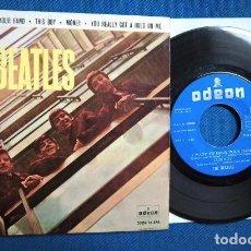 Discos de vinilo: BEATLES SINGLE EP EDITADO POR EMI ODEON ESPAÑA ORIGINAL EPOCA 1964 MUY BUENA CONSERVACION. Lote 248500340