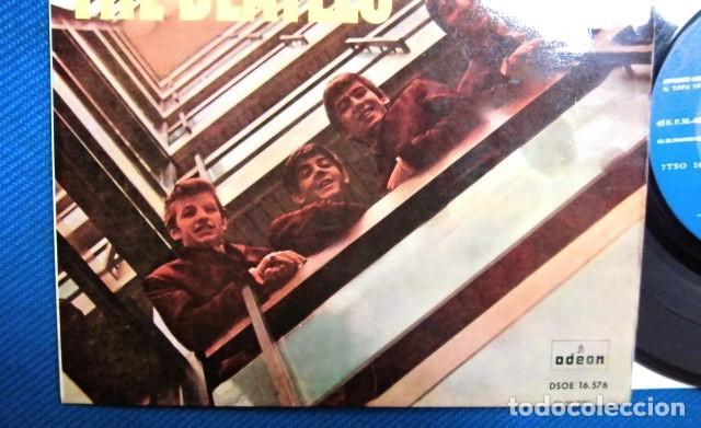 Discos de vinilo: BEATLES SINGLE EP EDITADO POR EMI ODEON ESPAÑA ORIGINAL EPOCA 1964 MUY BUENA CONSERVACION - Foto 3 - 248500340