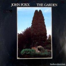 Discos de vinilo: JOHN FOXX, THE GARDEN (EX ULTRAVOX), ESPAÑA 1981, VIRGIN – I-204.096 .(VG+_VG+). Lote 248501085