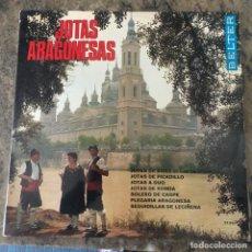 Discos de vinilo: RONDALLA BRETON . JOTAS ARAGONESAS . LP . 1969 BELTER. Lote 248507490