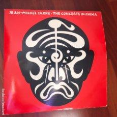 Disques de vinyle: JEAN MICHEL JARRE- THE CONCERTS IN CHINA. LP DOBLE.1984 2 LP'S. Lote 248511670