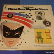 Discos de vinilo: BOH13 LP UK 73 GFOLD PAUL SIMON THERE GOES RHYMIN' SIMON MUCHAS SCUFFS ACEPTABLE. Lote 248555485