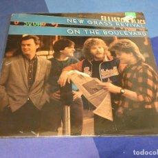 Discos de vinilo: BOH13 LP AMERICANA USA 84 BUEN ESTADO GENERAL NEW GRASS REVIVAL ON THE BOULEVARD. Lote 248556580