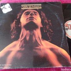 Discos de vinilo: NOVIEMBRE ÍDEM LP MOVIDA 1990. Lote 248558645
