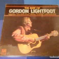 Discos de vinilo: BOH13 LP BEST OF GORDON LIGHTFOOT PAIS DESCONOCIDO CA 72 LEVES SEÑALES USO CORRECTO. Lote 248562800