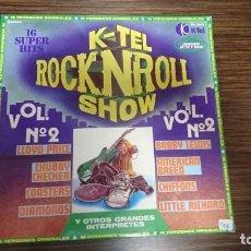 Discos de vinilo: LP K-TEL ROCK AND ROLL SHOW. Lote 248579595